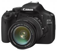 Зеркальная фотокамера Canon EOS 550D + объектив 18-55 IS Black