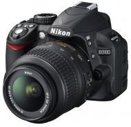 Зеркальная фотокамера Nikon D3100 kit AF-S DX 18-55mm f/ 3.5-5.6G VR (VBA280K001) Black