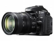 Зеркальная фотокамера Nikon D90 KIT 18-200 Black