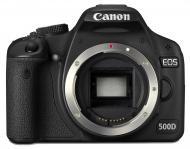 Зеркальная фотокамера Canon EOS 500D Body (3820B001) Black