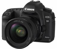Зеркальная фотокамера Canon EOS 5D Mark II + объектив 24-70 USM (2764B060) Black