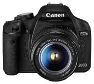 ���������� ���������� Canon EOS 500D + �������� 18-55mm DC + 75-300mm (3820B164) Black