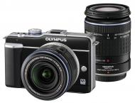 �������� ����������� Olympus E-PL1 DZK 14-42mm + 40-150mm + ����� CS-17B + ������ CSS-109LL Black (N3839692)