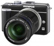 �������� ����������� Olympus E-PL1 KiT 14-150mm + ����� CS-17B Black (N3865892)