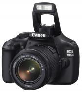 Зеркальная фотокамера Canon EOS 1100D + объектив 18-55 DC III (5161B036) Black
