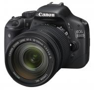 Зеркальная фотокамера Canon EOS 550D + объектив EF-S 18-135MM + EF 55-200MM Black