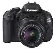 Зеркальная фотокамера Canon EOS 600D + объектив 18-55IS II (5170B078) Black