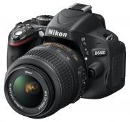 Зеркальная фотокамера Nikon D5100 + объектив KIT 18-55mm f/3.5-5.6G AF-S (VBA310K001) Black