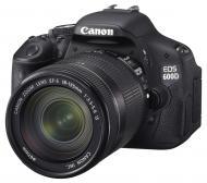 Зеркальная фотокамера Canon EOS 600D + объектив EF-S 18-135mm IS (5170B036) Black