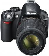 Зеркальная фотокамера Nikon D3100 kit 18-105 VR (VBA280KV06) Black