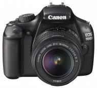 Зеркальная фотокамера Canon EOS 1100D + объектив 18-55 IS II (5161B029) Black