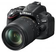 Зеркальная фотокамера Nikon D5100 + объектив 18-105 VR (VBA310KV01) Black