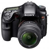 Зеркальная фотокамера Sony Alpha SLT-A77VK + объектив 18-55 KIT (SLTA77VK.CEE2) Black