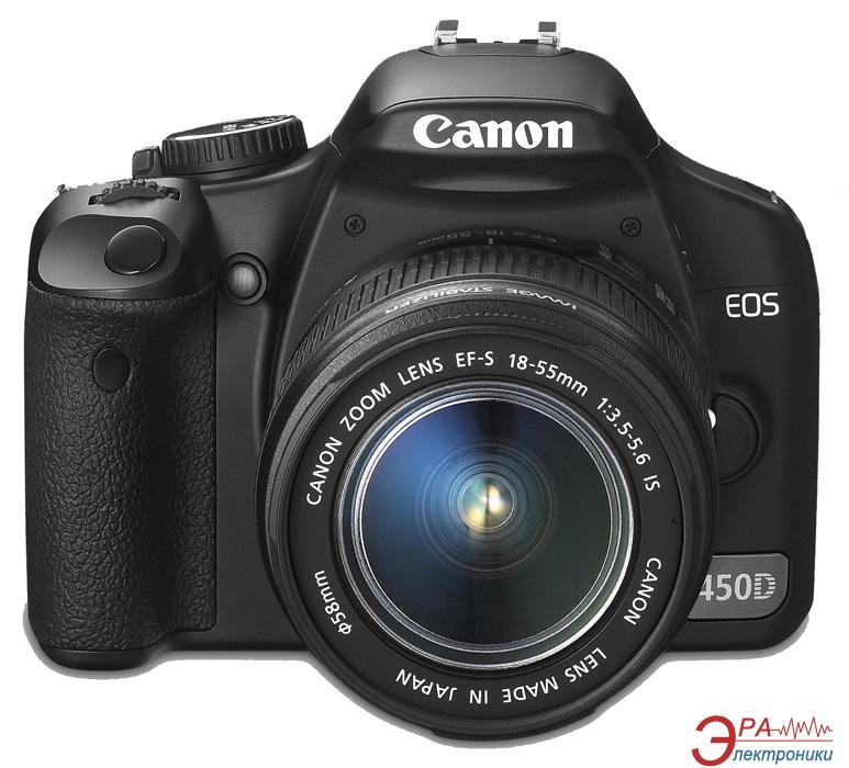 Зеркальная фотокамера Canon EOS 450D + 18-55 IS Black