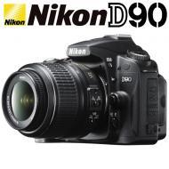 Зеркальная фотокамера Nikon D90 KIT 18-55mm VR DX Black