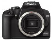 Зеркальная фотокамера Canon EOS 1000D Body Black