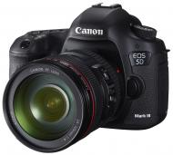 Зеркальная фотокамера Canon EOS 5D MK III + объектив 24-105 IS USM (5260B032) Black
