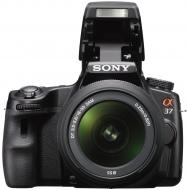 Зеркальная фотокамера Sony Alpha A37 + объектив 18-55 KIT (SLTA37K.CEE2) Black
