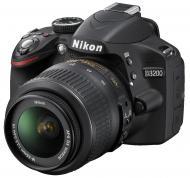 Зеркальная фотокамера Nikon D3200 KIT 18-55 VR Black