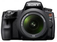 Зеркальная фотокамера Sony Alpha A37 +объектив 18-55, 55-200 KIT (SLT-A37Y) Black