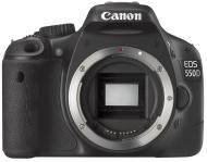 Зеркальная фотокамера Canon EOS 550D + объектив 18-55 DC +75-300 DC KIT (4463B123AA) Black