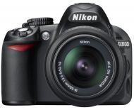 Зеркальная фотокамера Nikon D3100 Kit 18-55 VR + 55-300VR Black