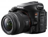 Зеркальная фотокамера Sony Alpha SLT-A65 + объектив 18-55 KIT (SLTA65K.CEE2) Black
