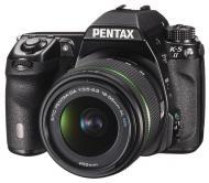 Зеркальная фотокамера Pentax K-5 II + DA 18-55mm WR (12026) Black