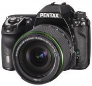 Зеркальная фотокамера Pentax K-5 II + DA 18-135mm WR (12037) Black