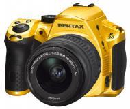 ���������� ���������� Pentax K-30 + DA L 18-55mm Crystal (14607) Yellow