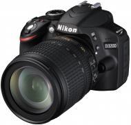 Зеркальная фотокамера Nikon D3200 KIT AF-S DX 18-105mm VR (VBA330K005) Black