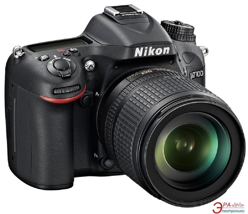 Зеркальная фотокамера Nikon D7100 KIT 18-105mm VR Zoom-Nikkor (VBA360K001) Black