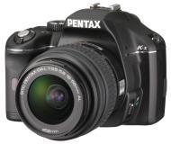 Зеркальная фотокамера Pentax K-x + DA L 18-55mm + 50-200mm Black