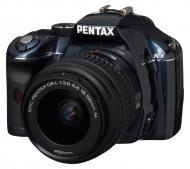 Зеркальная фотокамера Pentax K-x + DA L 18-55mm Blue
