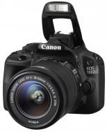 Зеркальная фотокамера Canon EOS 100D + объектив 18-55 IS STM (8576B025) Black