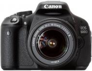 Зеркальная фотокамера Canon EOS 600D + объектив 18-55mm DC (5170B158) Black