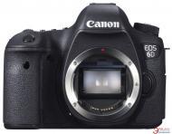 Зеркальная фотокамера Canon EOS 6D Body c Wi-Fi и GPS (8035B023) Black