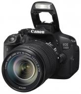 Зеркальная фотокамера Canon EOS 700D + объектив 18-135  IS STM (8596B038) Black