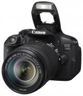 Зеркальная фотокамера Canon EOS 700D + объектив 18-135  IS STM (8596B038) Black