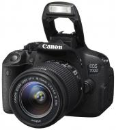 Зеркальная фотокамера Canon EOS 700D + объектив 18-55 IS STM (8596B031) Black