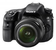 Зеркальная фотокамера Sony Alpha A58 + объектив 18-55 KIT (SLTA58K.CEC) Black
