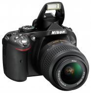 Зеркальная фотокамера Nikon D5200 kit 18-55 VR + сумка (VBA350KV01) Black