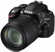 ���������� ���������� Nikon D3200 KIT + 18-105 VR (VBA330KV01) Black