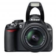 Зеркальная фотокамера Nikon D3100 + 18-55mm f/3.5-5.6G AF-S DX (VBA280KV07) Black