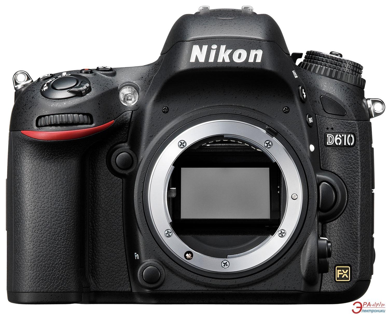 Зеркальная фотокамера Nikon D610 Body (VBA430AE) Black