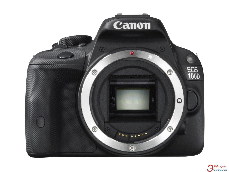 Зеркальная фотокамера Canon EOS 100D + объектив 18-55 DC III KIT (8576B032AA) Black