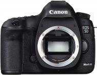 Зеркальная фотокамера Canon EOS 5D Mark III Body (5260B025AA) Black
