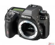 Зеркальная фотокамера Pentax K-3 + DA L 18-55 WR + DA L 50-200 WR (1555100) Black