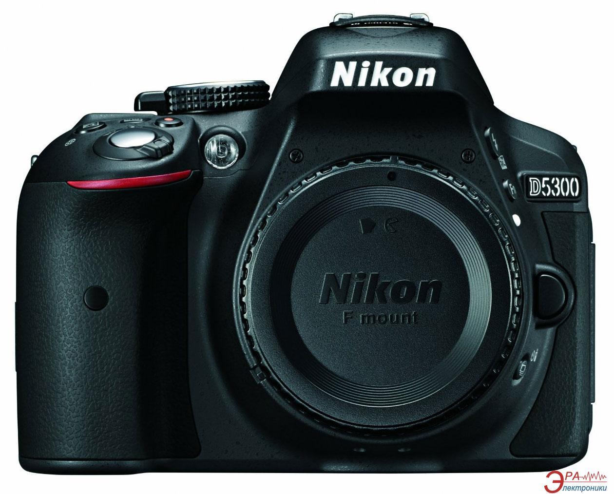 Зеркальная фотокамера Nikon D5300 body (VBA370AE) Black