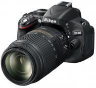 Зеркальная фотокамера Nikon D5100 + объектив 18-55 VR + объектив 55-200 VR kit (VBA310KV04) Black